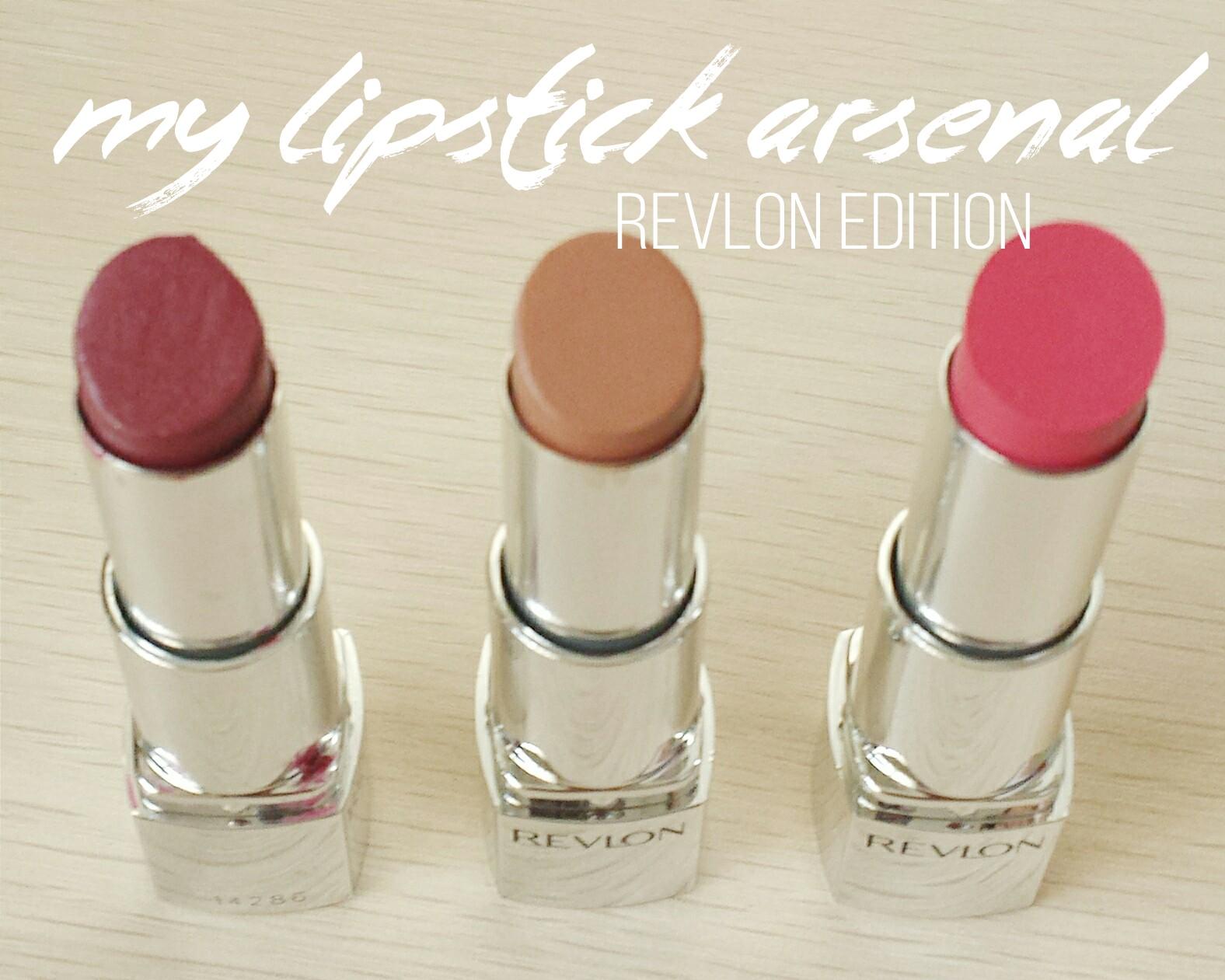 craftgeekescapist-lipstick-arsenal-revlon