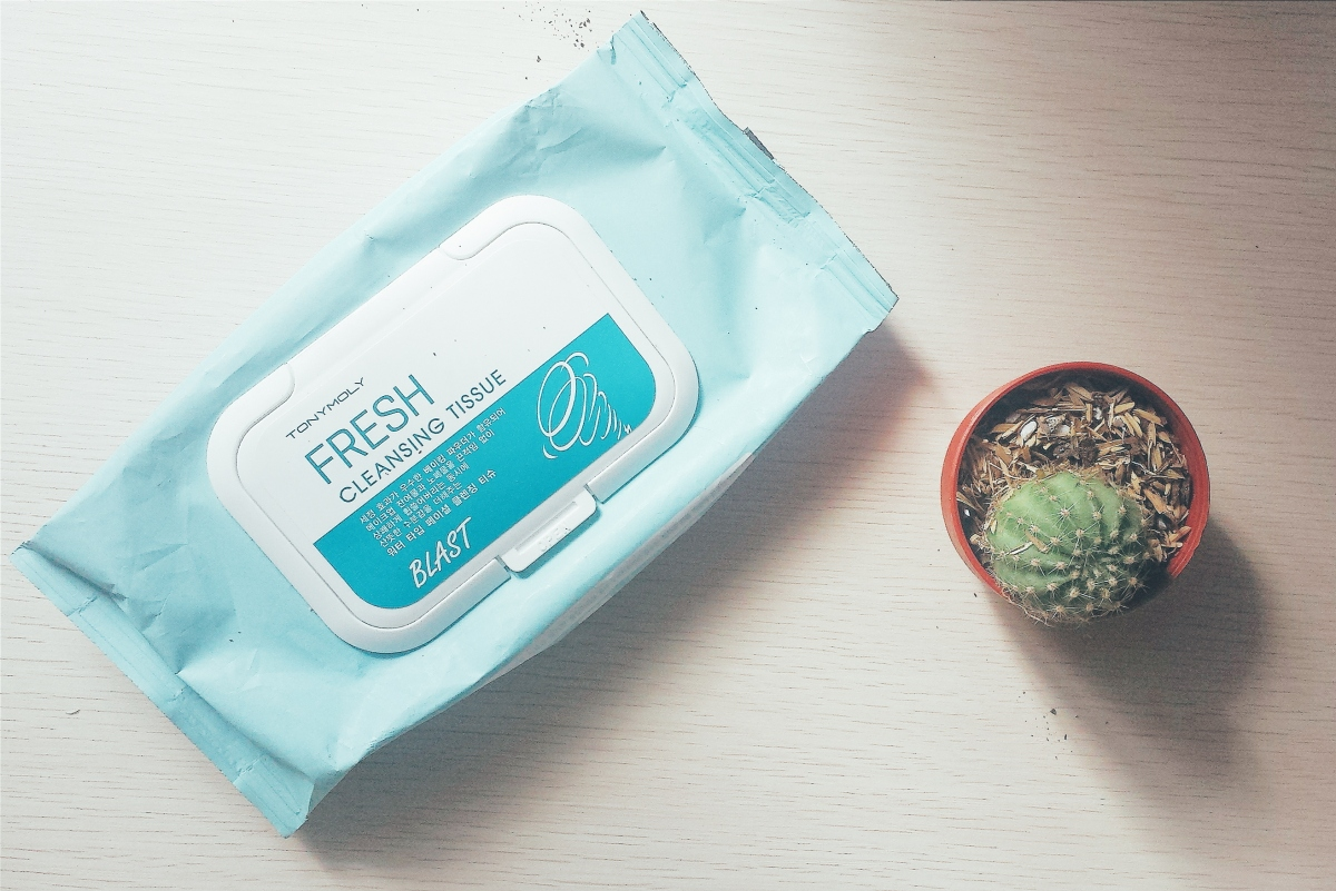Makeup Stash: Tony Moly Blast Fresh Cleansing Tissue